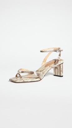 Alexandre Birman Nelly Square 50 Exotic Sandals