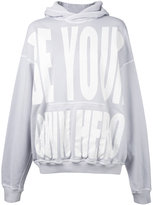 Haider Ackermann printed hoodie - women - Cotton - XS