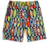 Hatley Toddler's, Little Boy's & Boy's Surfs Up Swim Shorts