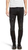 Diesel Sleenker Skinny Fit Moto Jeans
