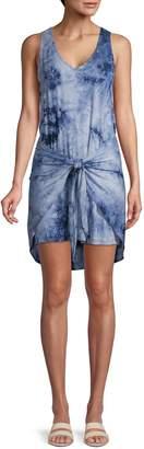 Supply & Demand Morgan Tie-Waist Tie-Dye Tank Dress
