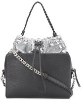 Maison Margiela sequin embellished shoulder bag - women - Cotton/Calf Leather/Polyamide/Polyester - One Size