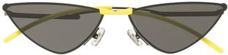 Gentle Monster Krow M01 cat-eye sunglasses