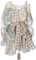Zimmermann patchwork asymmetric dress