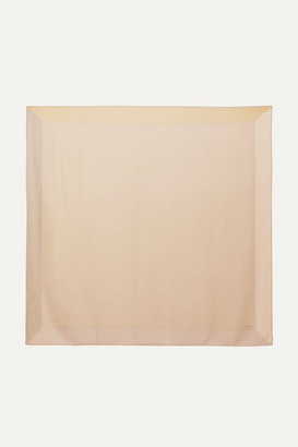 Loro Piana Infinito Cashmere And Silk-blend Scarf - Neutral