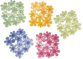 InterDesign Inc Set of Six Blooms Tub Treadz