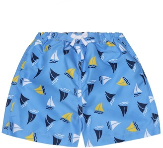 Rachel Riley Sailboat swim trunks