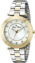 Lucien Piccard Women's LP-16309-SG-22 Odessa Analog Display Quartz Two Tone Watch