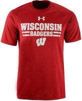 Under Armour Men's Wisconsin Badgers Tech T-Shirt