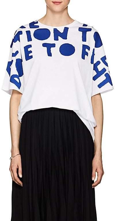 Maison Margiela Women's Special-Edition AIDS Cotton T-Shirt