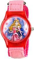 Disney Kids' W001702 Sleeping Beauty Analog Display Analog Quartz Pink Watch