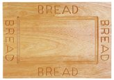 Camilla And Marc Premier Housewares Bread Board, 2 x 38 x 26 cm - Rubberwood