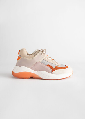 And other stories Trio Colour Block Chunky Sneakers