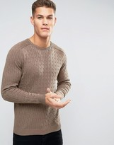 Selected Cable Knitted Sweater