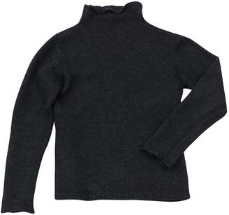 Rene Lezard Grey Wool Knitwear