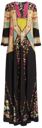 Etro Silk Floral Maxi Dress