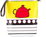 Marni tea pot print bag - kids - Calf Leather/Polyamide/Polyurethane/Viscose - One Size