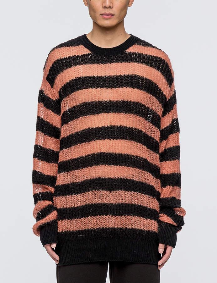 McQ Graphic Jacquard Knit Sweater