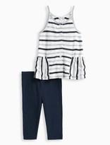 Splendid Little Girl Mesh Stripe Top Set