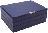 Wolf Large Stackable Tray Set, Purple