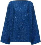 Haider Ackermann oversized glitter jumper