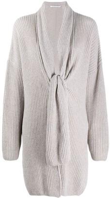 Agnona Oversized Knot Pullover