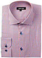 Jared Lang Long Sleeve Mini Check Dress Shirt