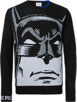 Iceberg Batman intarsia jumper - men - Acrylic/Polyamide/Wool - S
