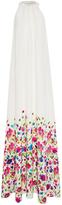 Oscar de la Renta Floral Maxi Dress