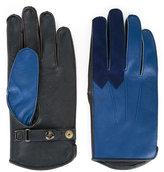 Addict Clothes Japan - bicolour gloves - men - Sheep Skin/Shearling/Polyester - M