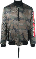 Blood Brother Loyal bomber jacket