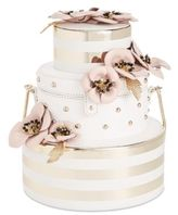 Kate Spade Wedding Belles Wedding Flower Cake Mini Clutch