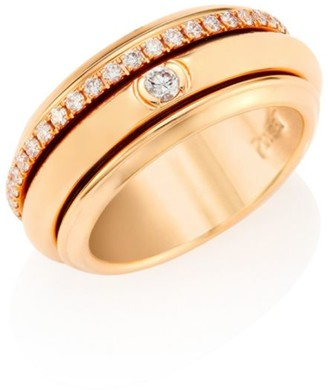 Piaget Possession 18K Rose Gold & Diamond Ring