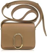 3.1 Phillip Lim Alix Camel Leather Flap Mini Crossbody Bag