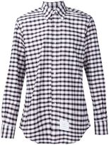 Thom Browne checked shirt