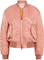 Acne Studios Clea Shell Bomber Jacket - Pastel pink