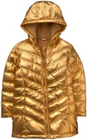 Crazy 8 Metallic Puffer Parka