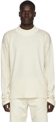 Off-White Jil Sanderand Long Sleeve Sweater