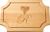 The Well Appointed House Personalized Artisan 18''x12'' Scalloped Cutting Board with No Handles