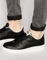 Nike Air Force 1 '07 Lv8 Trainers In Black 718152-012
