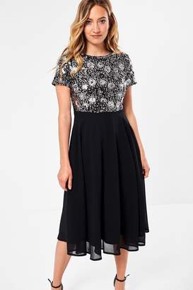 Iclothing iClothing Rowan Sequin Top Dress in Black