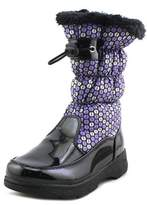 totes Dotty Youth Round Toe Synthetic Purple Winter Boot.