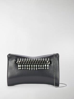 Jimmy Choo Venus embellished leather crossbody bag