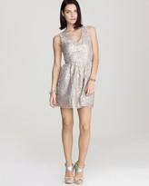Dress - Metallic Lace Party