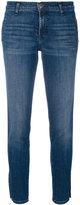 J Brand button detail skinny jeans