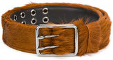 Prada furry belt