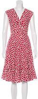 Kate Spade Silk Floral Print Dress w/ Tags