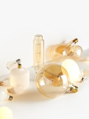 Calex 8W ES LED Dimmable Filament Globe Bulb, White