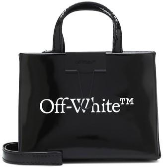 Off-White Baby Box leather crossbody bag