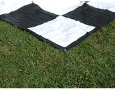 3m x 3m PVC Giant Portable Chess & Checkers Mat